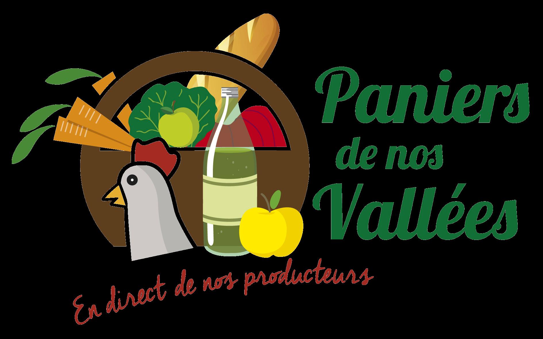 Logo Paniers de nos Vallées