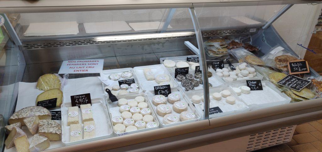 Comptoir de fromages